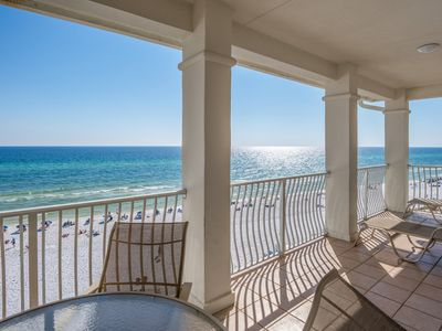Photo for Gulf Front 3bed/3bath - Quiet Top Floor, Heated Pool!