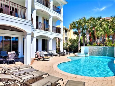 Photo for 10% Off Seven Nights 6/1-6/8! Gulf View, Elevator, Private Pool, Outdoor Grill!