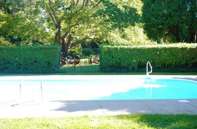 Summer View of Pool