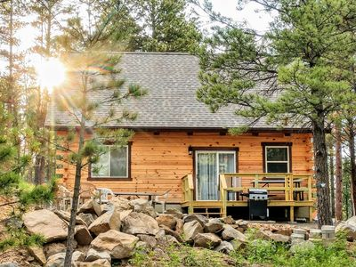Photo for A Black Hills Vacation in Comfort at Elk Hollow Cabin!