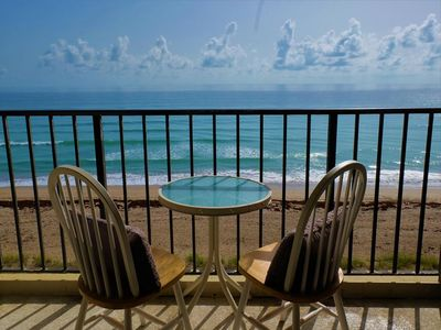 Photo for Beachfront 2/2 Condo on the 5th Floor with Amazing Views of the Atlantic Ocean!