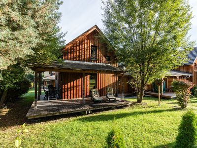 Photo for Wooden chalet in 4-star holiday park