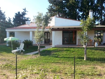 Photo for Detached house, immersed in the green countryside of the village 5 minutes from the sea.