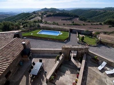 Photo for Self catering Masia Pallares de Dalt for 10 people