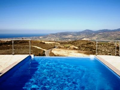 Photo for This 4-bedroom villa for up to 8 guests is located in Paphos and has a private swimming pool, air-co