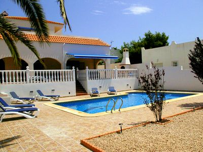 Photo for LUXURY 6 BED VILLA SLEEPS 13, PRIVATE POOL, WHEELCHAIR ACCESSIBLE + EXTRAS