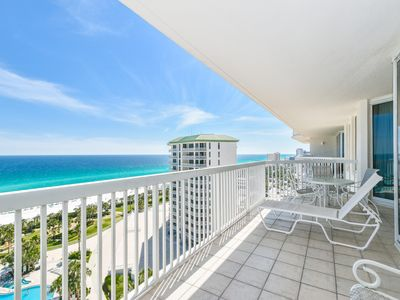 Photo for 14th Floor Beachfront Condo. Unbeatable Views & Free Beach Service