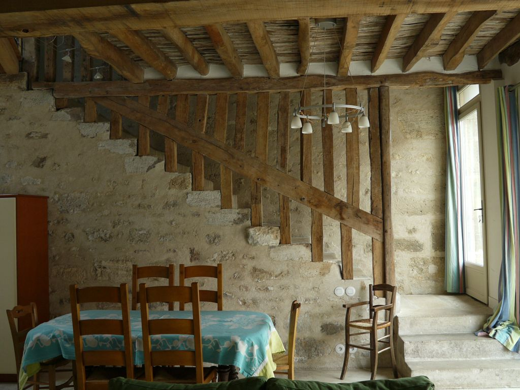 Maison De Campagne Vexin les lattis: cottage restored in the traditions, in a typical farm of vexin  - avernes