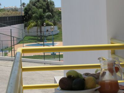 Photo for Apartment, with fantastic terrace, Pool, Tennis, AC, WIFI