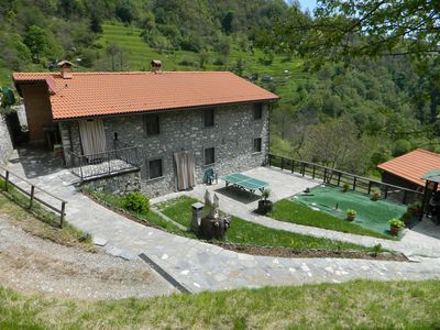 Photo for Holiday house / farmhouse with private pool Alta Versilia Apuan Alps