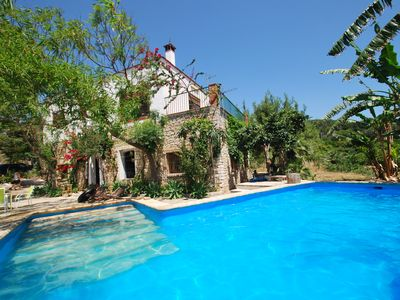 Photo for Finca in a secluded location, private pool, dog keeping possible