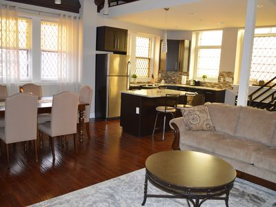 Photo for Historical Property -3 bd townhome-20 min walk to UPenn