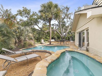 Magnificent Home with Private Oasis Pool, Game Room, and Steps from the Beach!