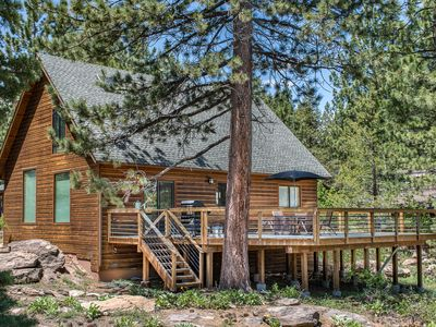 Photo for Wooded Cabin in Truckee with Tahoe Donner Access and World-Class Skiing