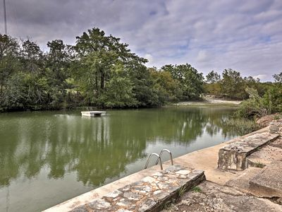 Photo for Hunt Home w/Deck & 2 Kayaks on the Guadalupe River
