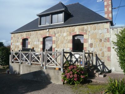 Photo for Cote De Granit Rose 8 Pers House 200m From The Beach