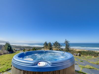 Photo for Gorgeous oceanfront home with great views, private hot tub!