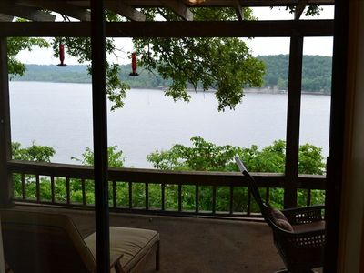 Photo for Welcome to Faulkner's Landing Lake Front Home with Boat Dock