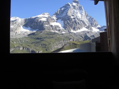 Photo for PRETTY APARTMENT SITE IN CERVINIA LOCAL HEAVEN HIGH, 4 BEDS, CAR BOX.