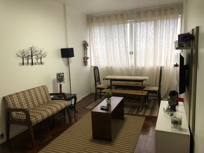 Photo for Apartment in Rio de Janeiro with Lift, Internet, Washing machine, Air conditioning (1023168)