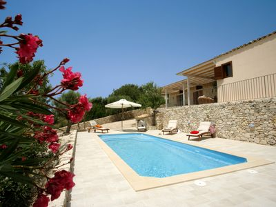 Photo for Newly renovated villa with sea view and swimming pool
