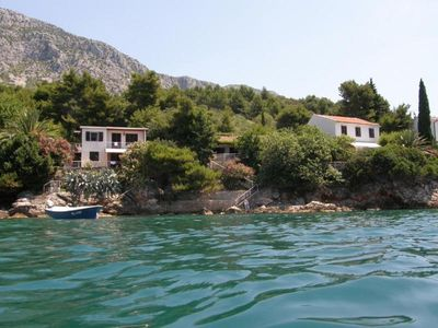 Photo for House on the seaside with own beach, private parking, garden and place for boat