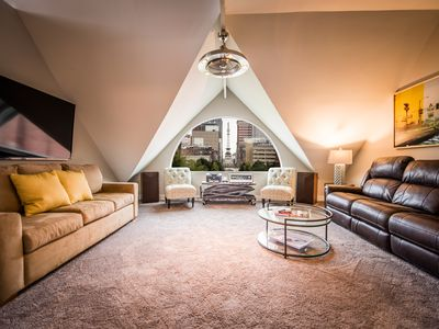 Photo for PENTHOUSE Downtown Indianapolis, Sleeps 4-10, 2 Blks Fr Lucas, 2BR/2 Bath