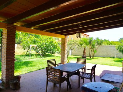 Photo for Large Chalet 200m2 very close to the sea