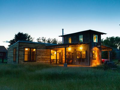 Photo for An artistic and sustainably built home in a semi rural setting of Walla Walla.