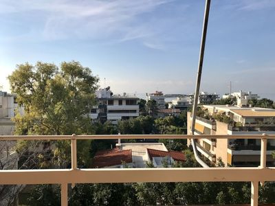 Photo for Perfect sea view apartment in Voula