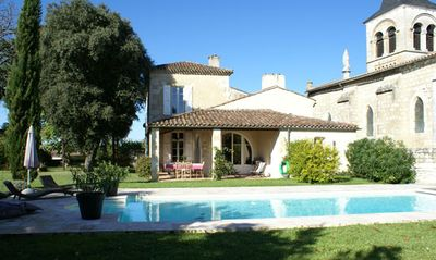 Photo for At the heart of the Bastide, a stone house, south haven of peace.