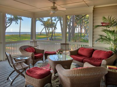 Photo for NEW  LISTING: 4 BR Daufuskie House  - Ocean Front - Free Cart & Pool Passes!