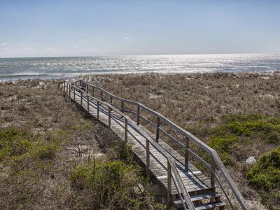 Photo for Oceanfront Home, Private Boardwalk to the Beach, N Carolina Beach Avenue, Perfect for a Family of 12