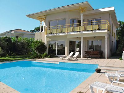 Photo for Vacation home Ferienhaus mit Pool (MIZ310) in Mimizan - 10 persons, 5 bedrooms