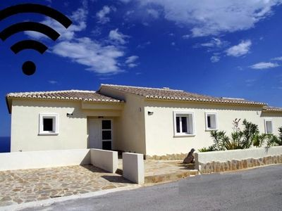 Photo for Villa in El Poble Nou de Benitatxell with Internet, Air conditioning, Parking, Terrace (347741)