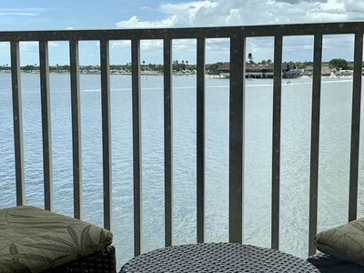 Photo for 372- Oceanfront Condo only 2 min to Tampa Airport!!