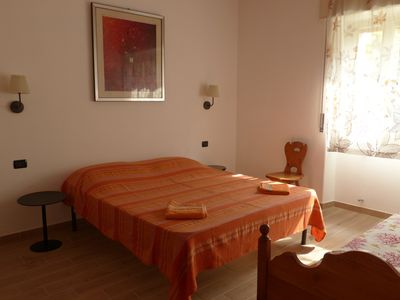 Photo for Newly refurbished apartment 3 minutes walk from the sea and near the town center