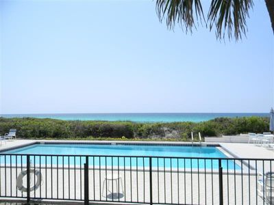 Photo for First Floor, Beach Front, Heated Pool, Private Beach Walk - Walk to Restaurants