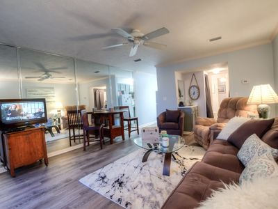 Photo for Spacious Condo, Steps to The Beach, 1300 sq ft on 2 levels! By ZIA