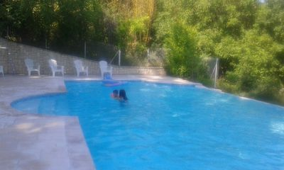 Photo for Cottage 7-9 pers with terrace and patio - Château Marith (Pool, playground ...)