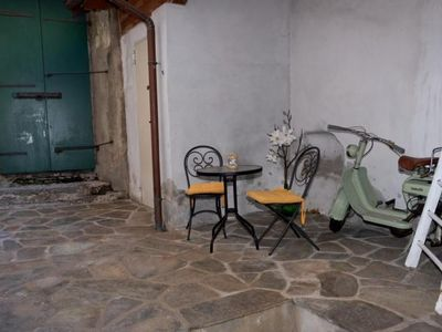 Photo for 2 bedroom apartment with courtyard in the old town of Cannobio
