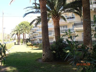 Photo for Tres Bel Appt any comfort, air-conditioned, by seaside, seen beach close to trade