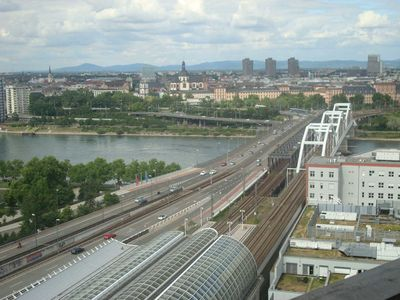 Photo for Fereinwohnung - Ludwigshafen City. a gigantic view of the city