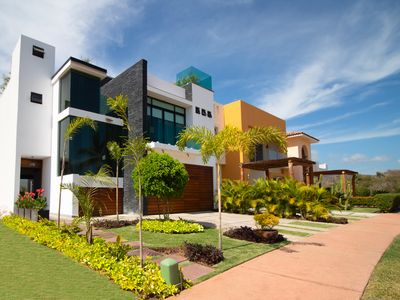 Photo for BRISAS 5, AWSOME PLACE  NEW HOUSE  WITH POOL AND ROOF GARDEN. near to l a