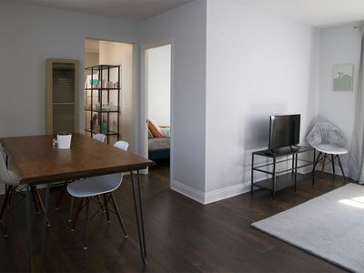 Photo for Modern bungalow in a lovely neighborhood. Great location near downtown.