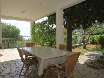 Photo for Two bedroom apartment with terrace Nerezine, Lošinj (A-2518-b)