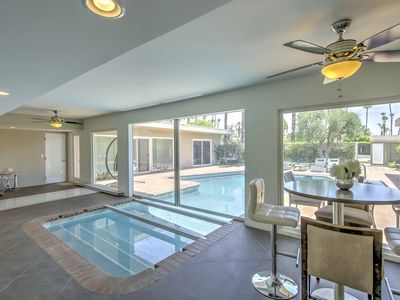 Photo for Rancho Mirage Home w. Indoor/Outdoor Pool+Mtn View