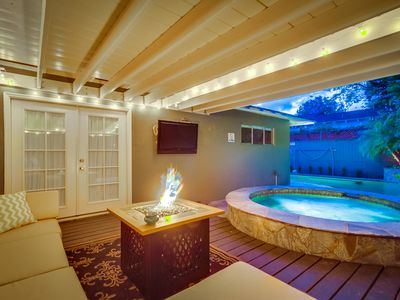 Photo for House, Pool, Hot Tub, A/C, Pet Friendly, Firepit