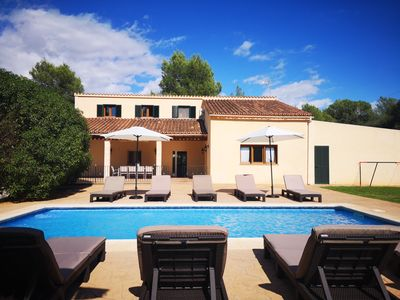Photo for Spacious Mallorcan Finca with Land, Private Pool, Wifi - Perfect for families!