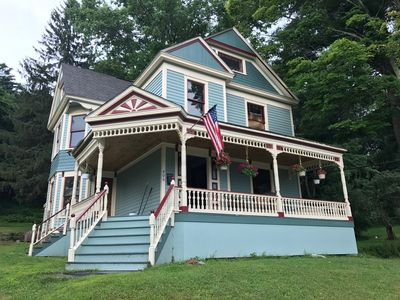 Photo for Big Beautiful Victorian near Lake Wallenpaupack in the Heart of Hawley Village